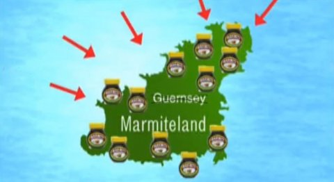Guernsey targeted in Marmite campaign. You'll either love it or hate it!