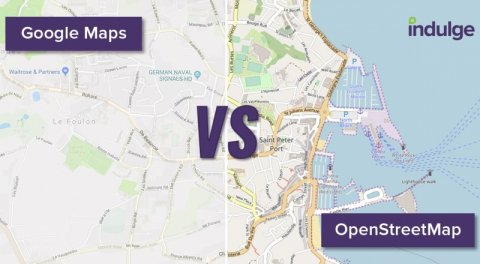 Why choose OpenStreetMap over Google Maps